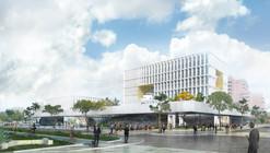 adjkm + Montemayor Arquitectos + VEPICA, segundo lugar por nueva subsede del Banco Central de Venezuela