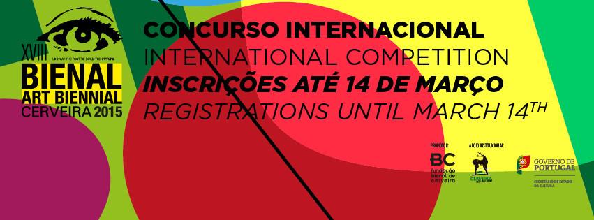 Inscrições abertas para o Concurso Internacional da Bienal de Arte de Cerveira