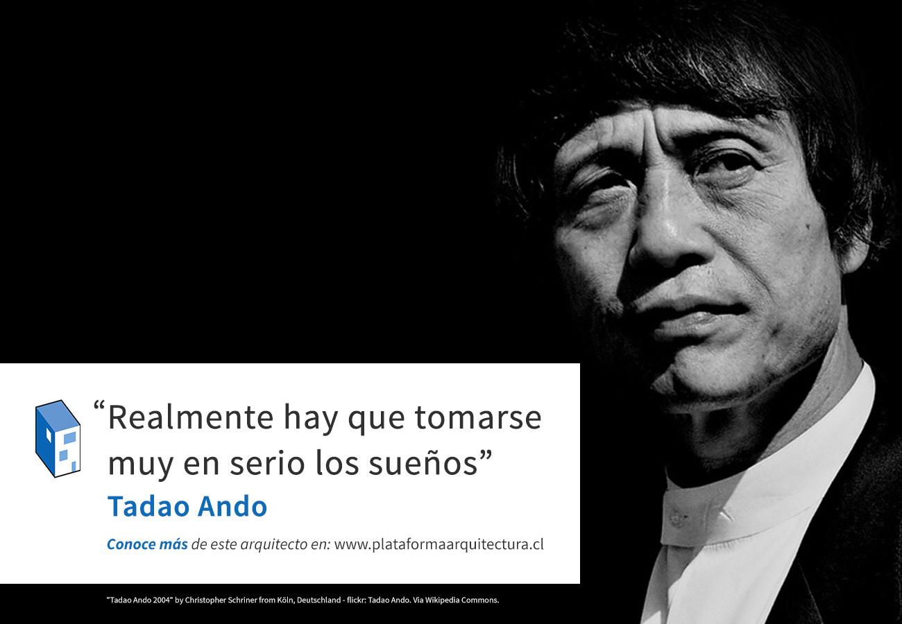 Frases: Tadao Ando y los sueños