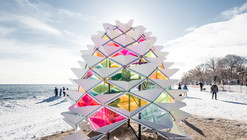 """""""Winter Stations"""" Bring Warmth to Toronto's Frozen Beaches"""