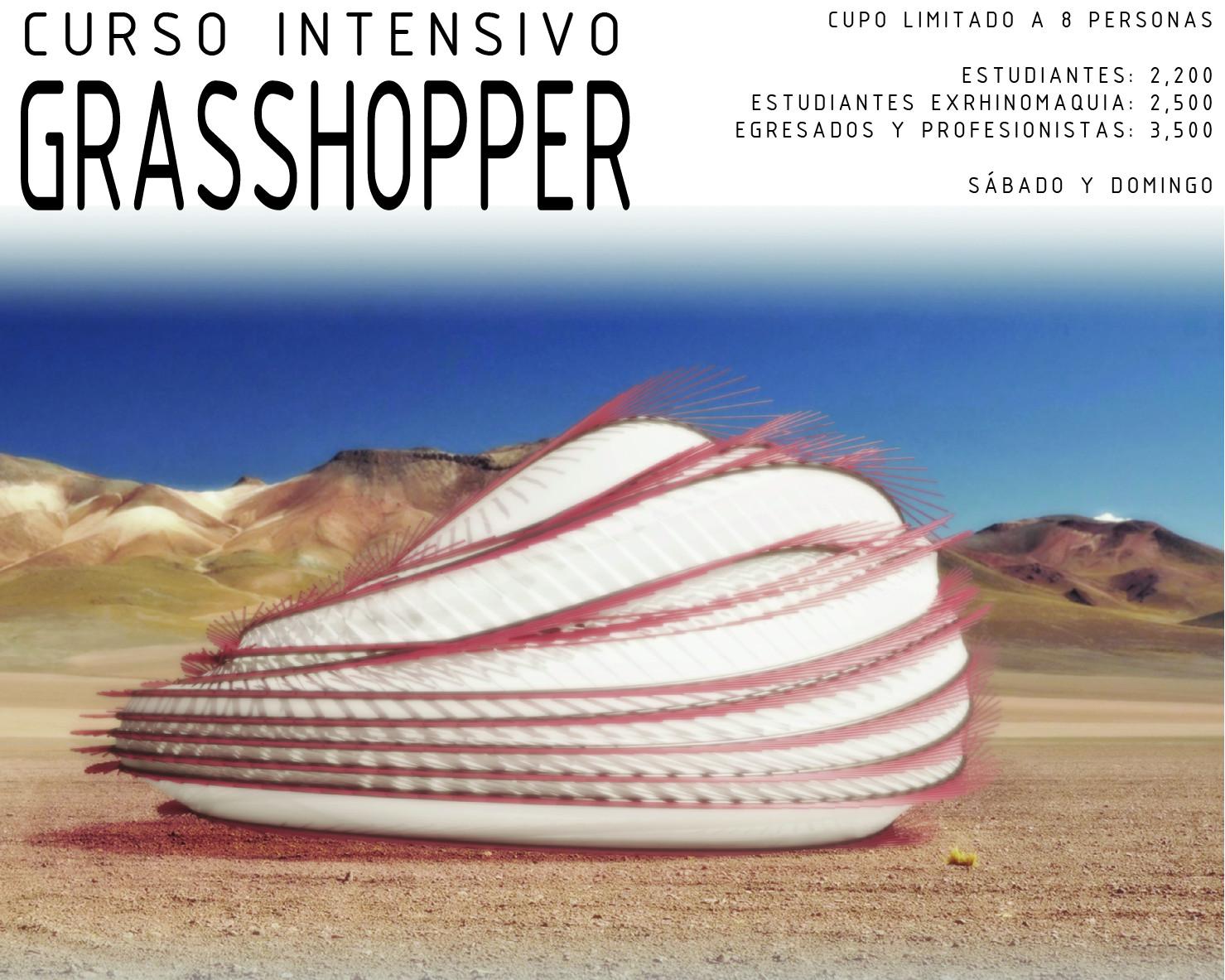 RhinoMAQUIA + AVO Studio: Curso Intensivo de Grasshopper para arquitectos [¡Sorteo cerrado!]