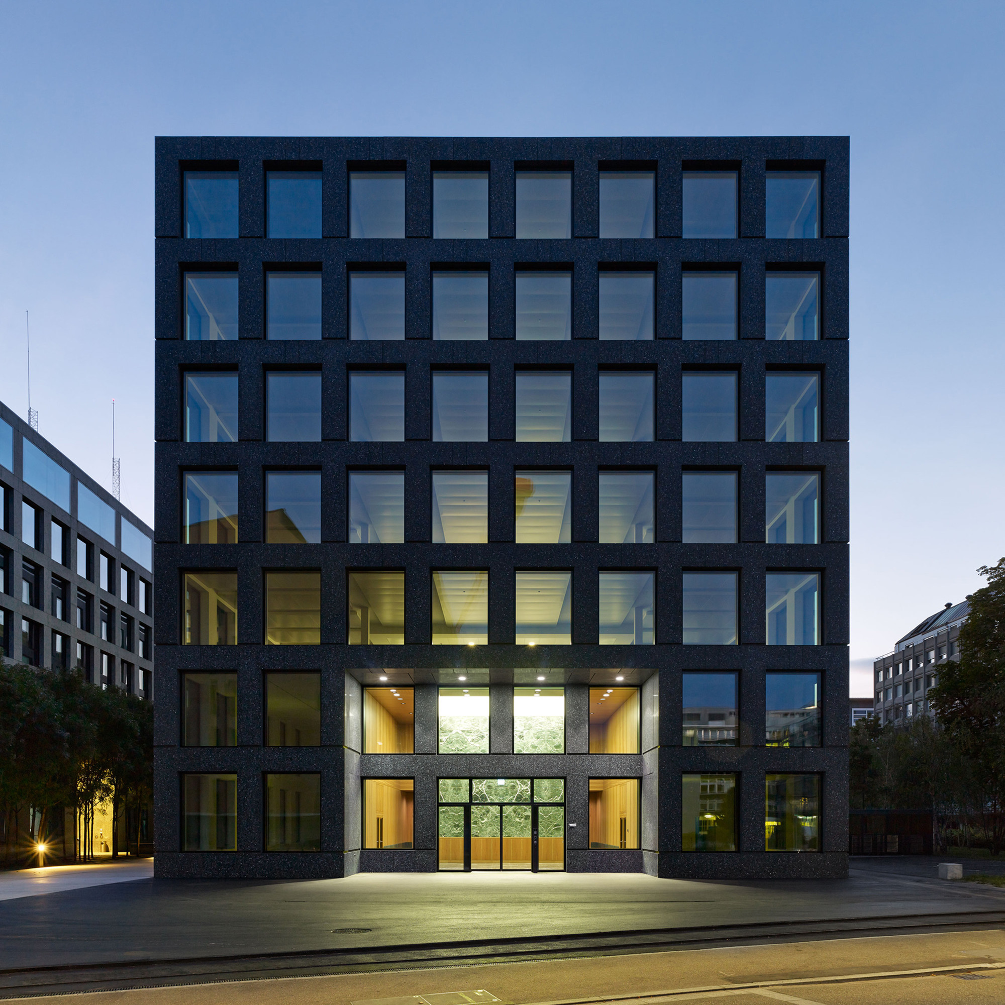 Herostrasse office building max dudler archdaily for Construction architect