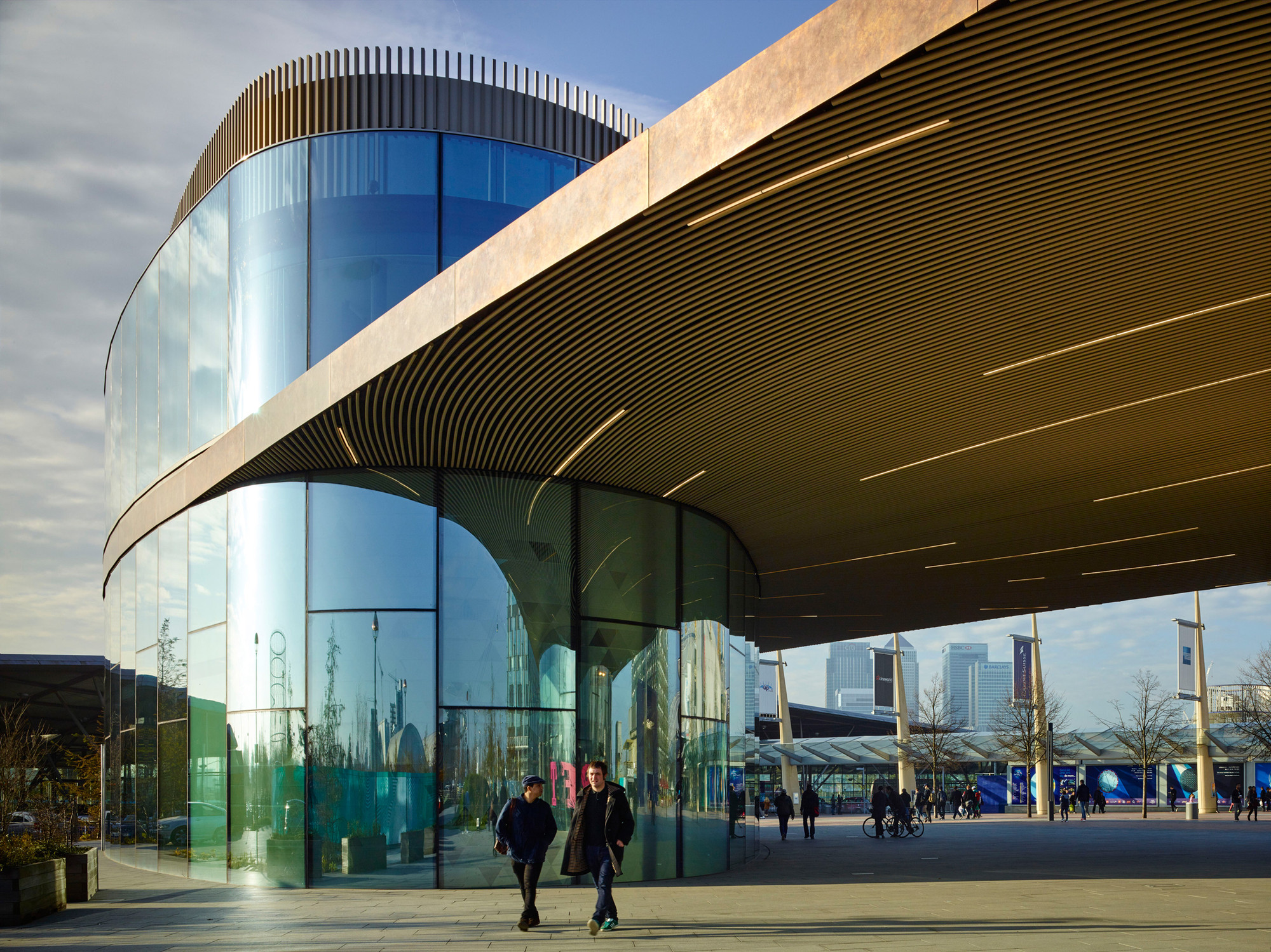 Greenwich Gateway Pavilions / Marks Barfield Architects, © Tim Soar