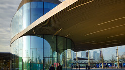 Greenwich Gateway Pavilions / Marks Barfield Architects