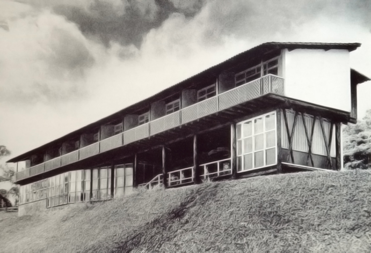 Clássicos da Arquitetura: Park Hotel / Lucio Costa, Via Wisnik, 2001. Image © Arquivo SPHAN