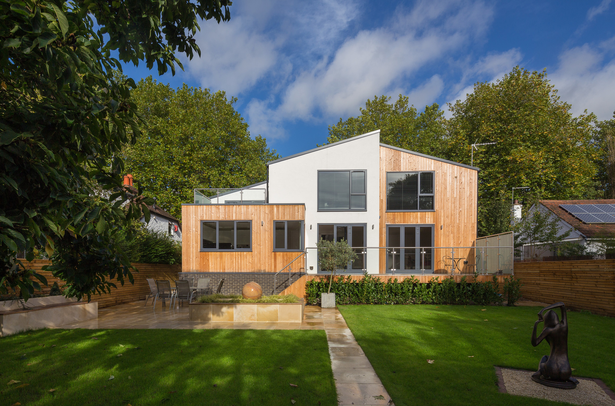 Nick Leith Smith Builds Timber Frame Family Home In 10 Weeks Archdaily