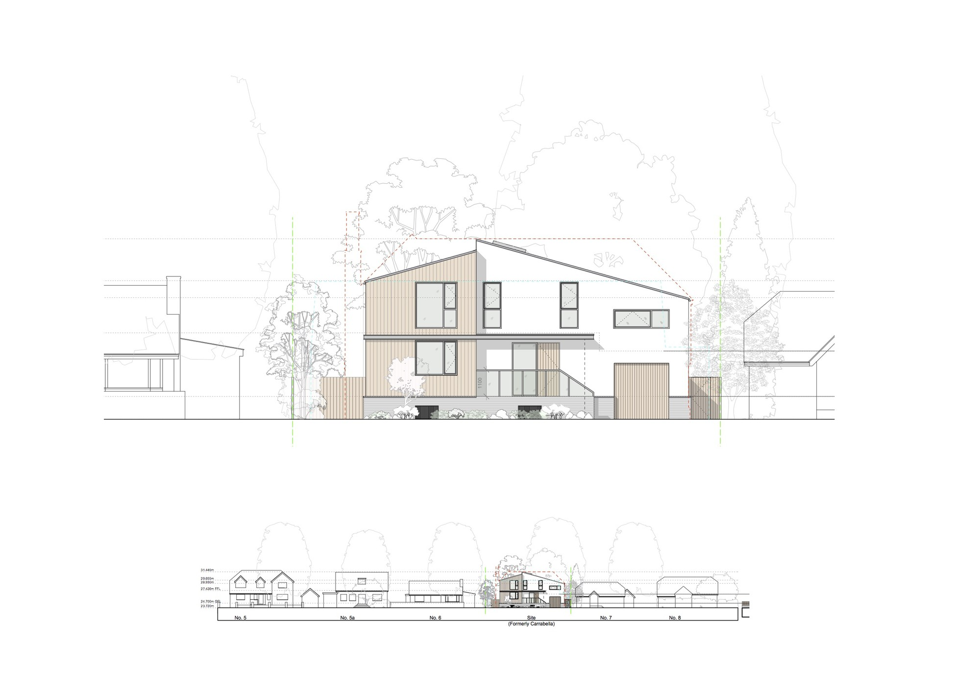 Gallery of Nick Leith-Smith Builds Timber Frame Family Home in 10 ...