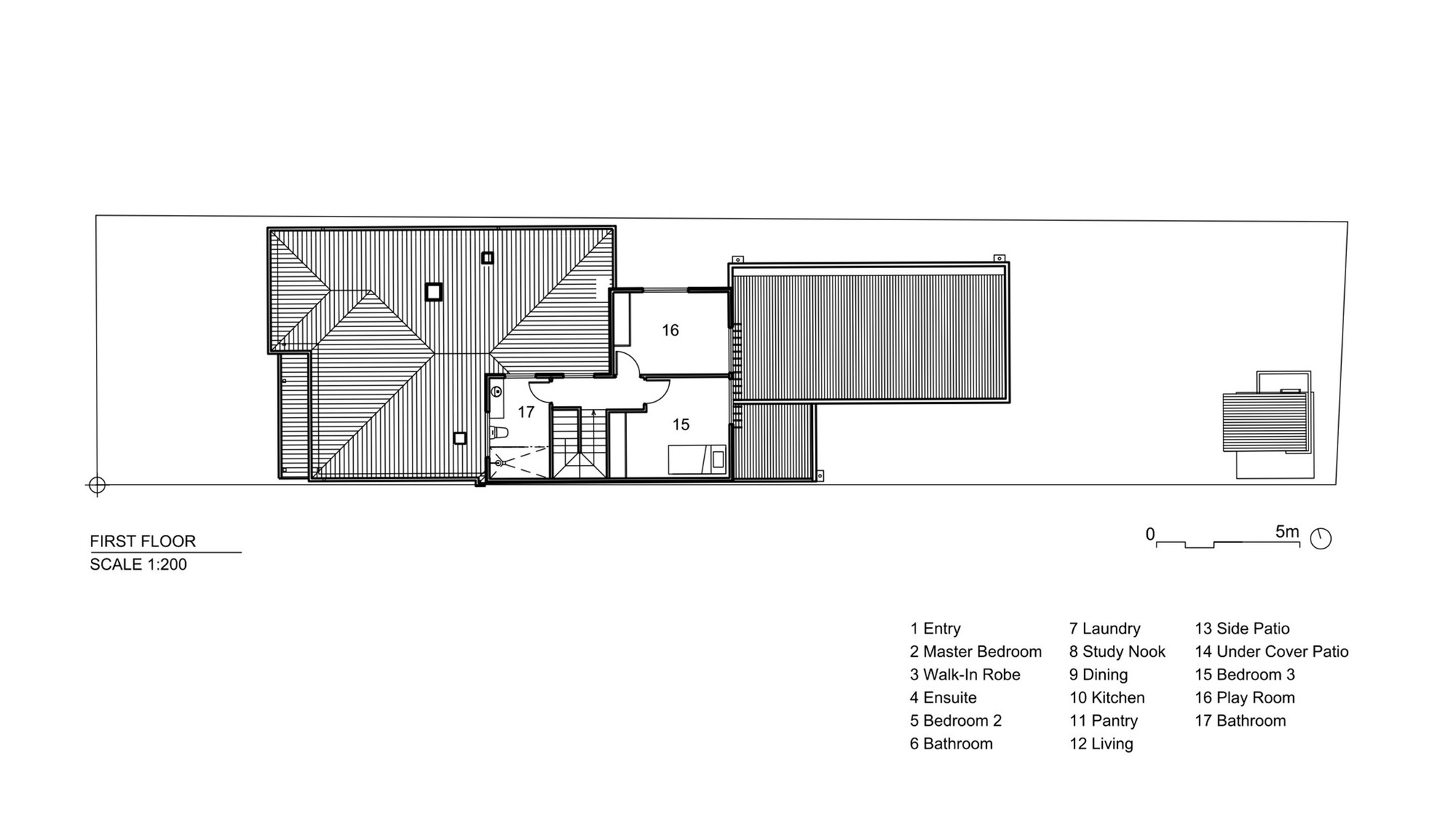 Gallery of sandringham house techne architecture for Floor plans architecture