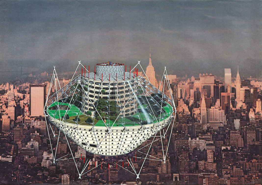 London's Architectural Association Exhibits Futuristic Work of Jan Kaplický, © Jan Kaplický