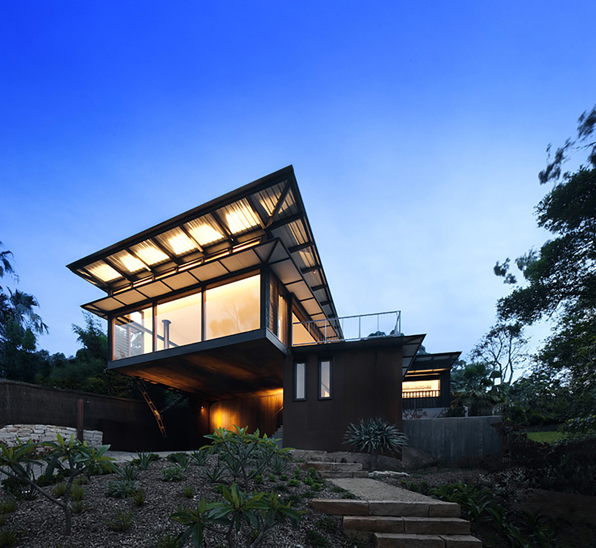 pacific house casey brown architecture archdaily