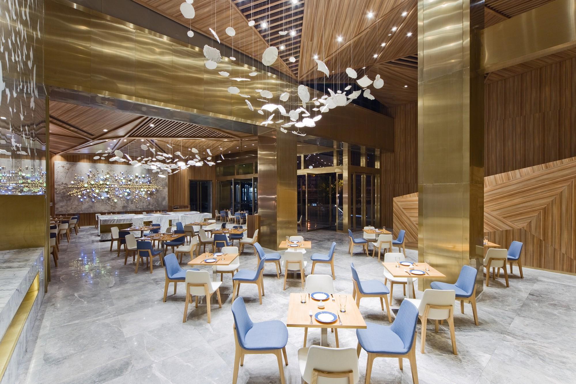 Gallery of yue restaurant panorama