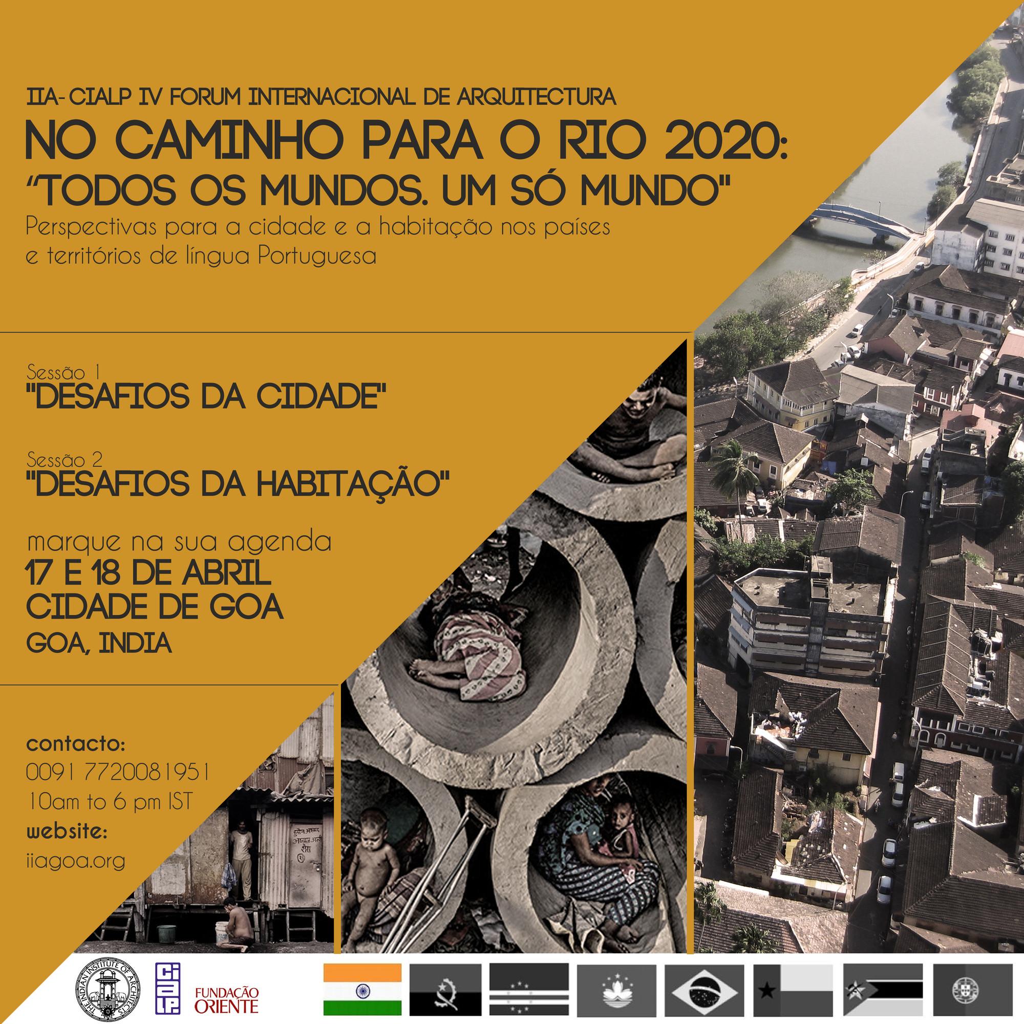 Fórum de Arquitetos de Língua Portuguesa marca integração do estado indiano de Goa, Cortesia de CIALP