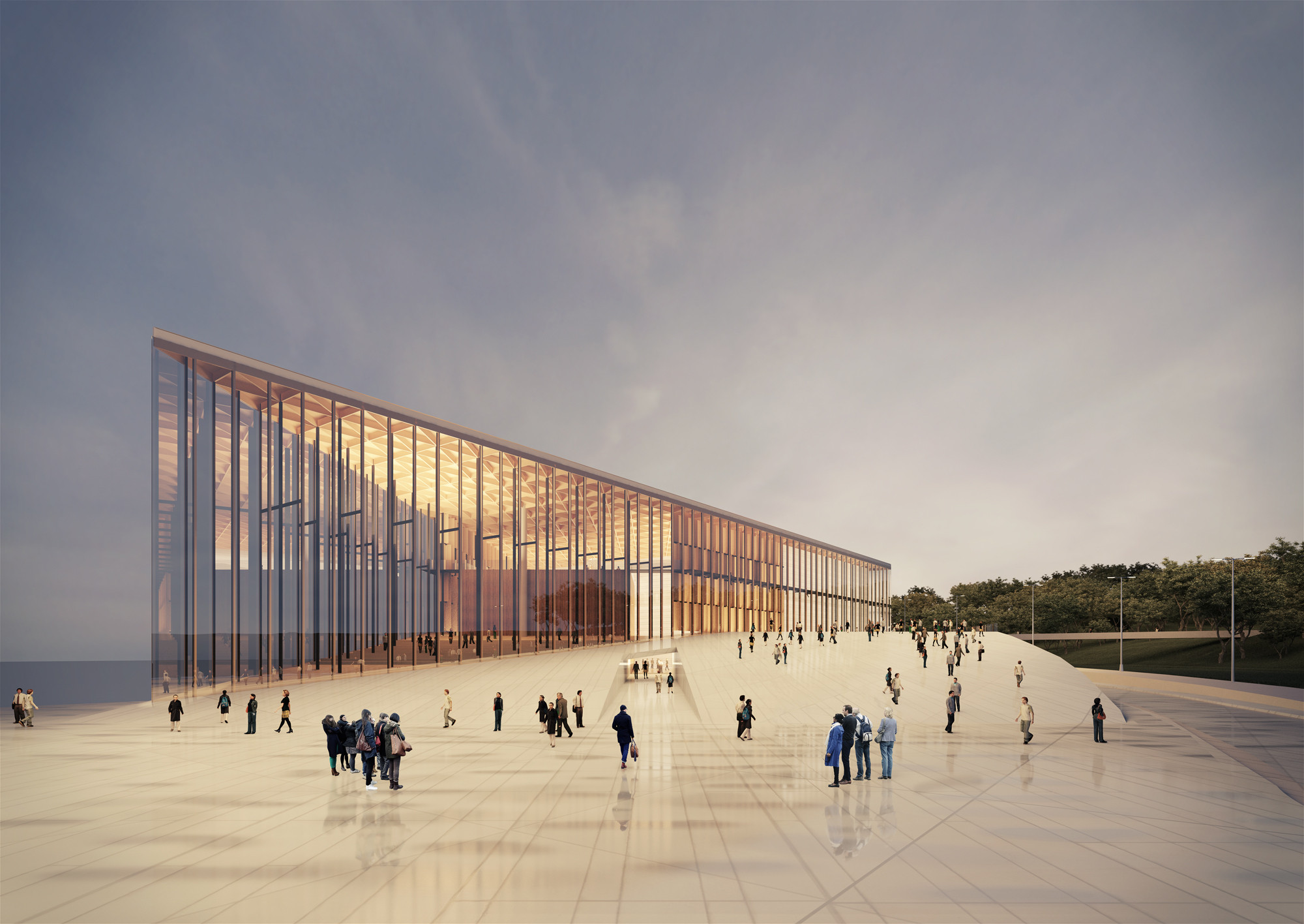 Proposta para o Museu Guggenheim Helsinki / Estúdio 41 + Arquea Arquitetos, Cortesia de Estúdio 41 + Arquea Arquitetos
