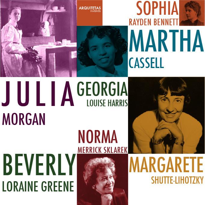 Arquitetas Invisíveis Presents 48 Women in Architecture: Part 1, the Pioneers, Courtesy of Arquitetas Invisíveis