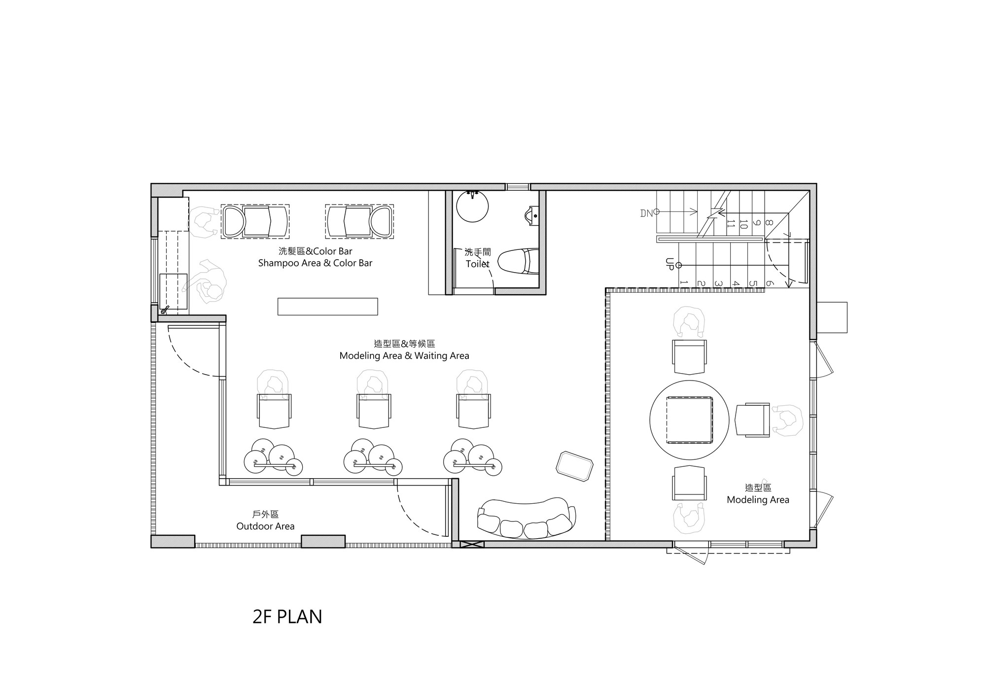 Floor plan of a beauty salon thefloors co for Design a beauty salon floor plan