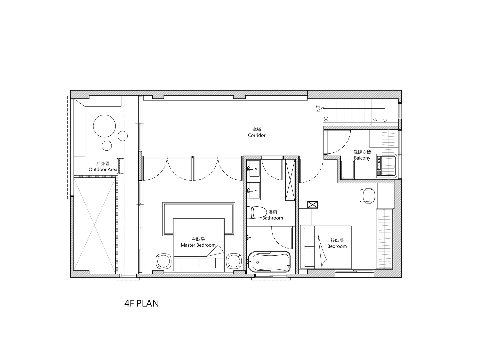 Townhouse Blueprints Gallery Of Renovation Of Split Level Hair Salon