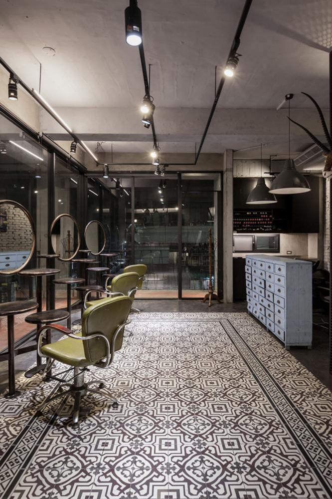 Gallery Of Renovation Of Split Level Hair Salon Residential Hao