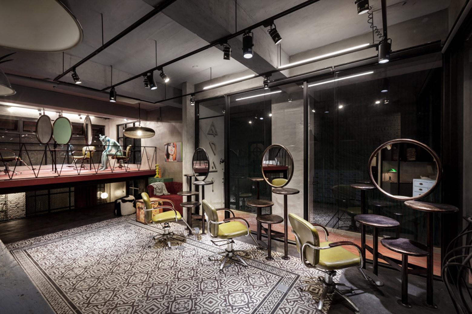 Renovation of SplitLevel Hair Salon Residential HAO Design