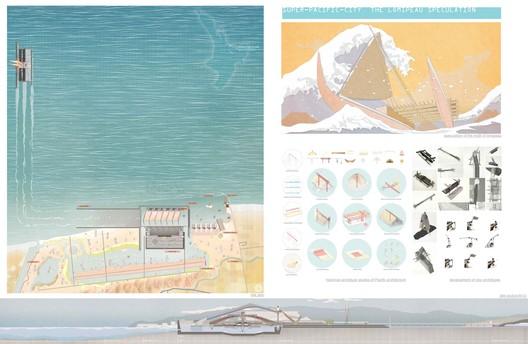 Menção Especial: 'Super-Pacific-City: The Lomipeau Speculation' / Norman Wei. Cortesia de d3