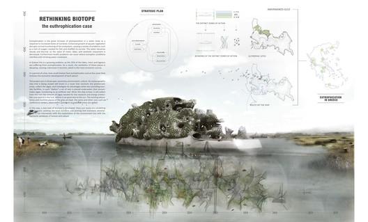 Menção Especial: 'Rethinking Biotope' / Kyriaki Goti, Nikolaos Xenos. Cortesia de d3