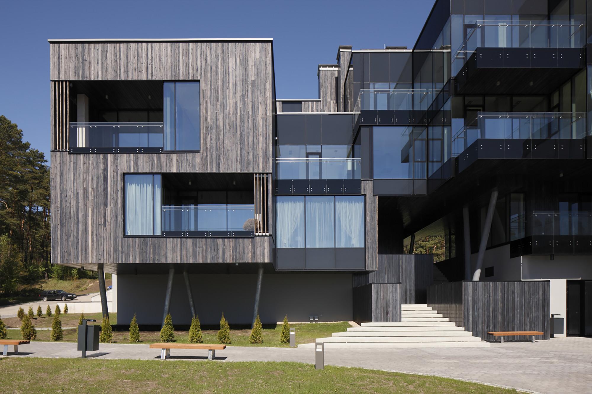Residential complex Ciekurkrasti / AB3D  , © Ansis Starks