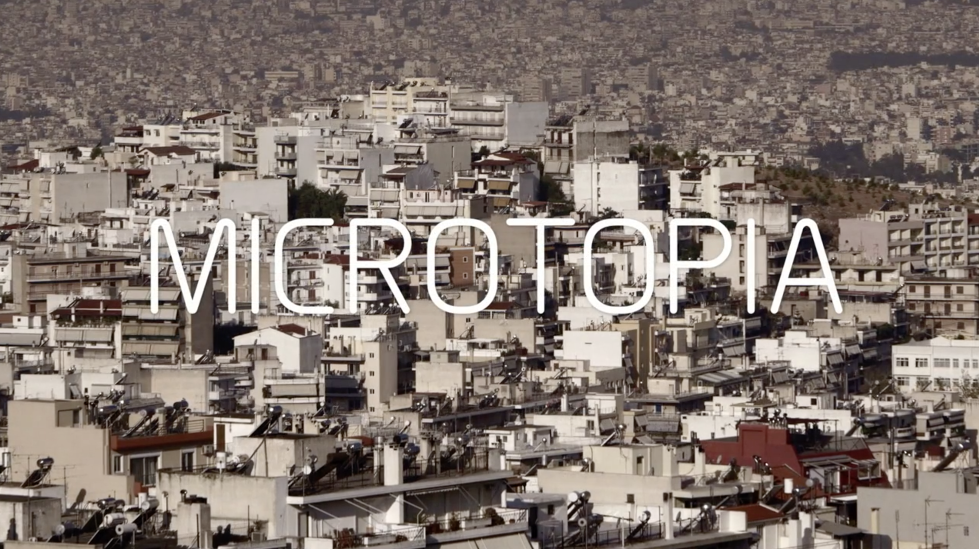Architecture Documentaries To Watch In 2015, Microtopia (2013) / Jesper Wachtmeister