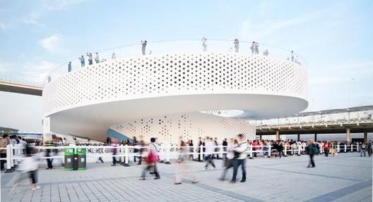 Pavilhão da Dinamarca na Expo Xangai 2010. Imagem © Montse Zamorano