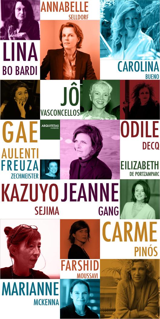 'Arquitetas Invisíveis' reconocen a 48 mujeres en la arquitectura: arquitectura, Cortesía de Arquitetas Invisíveis