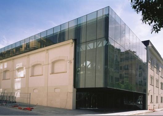 Museu de Arte Contemporânea em Roma. © Odile Decq - L. Filetici
