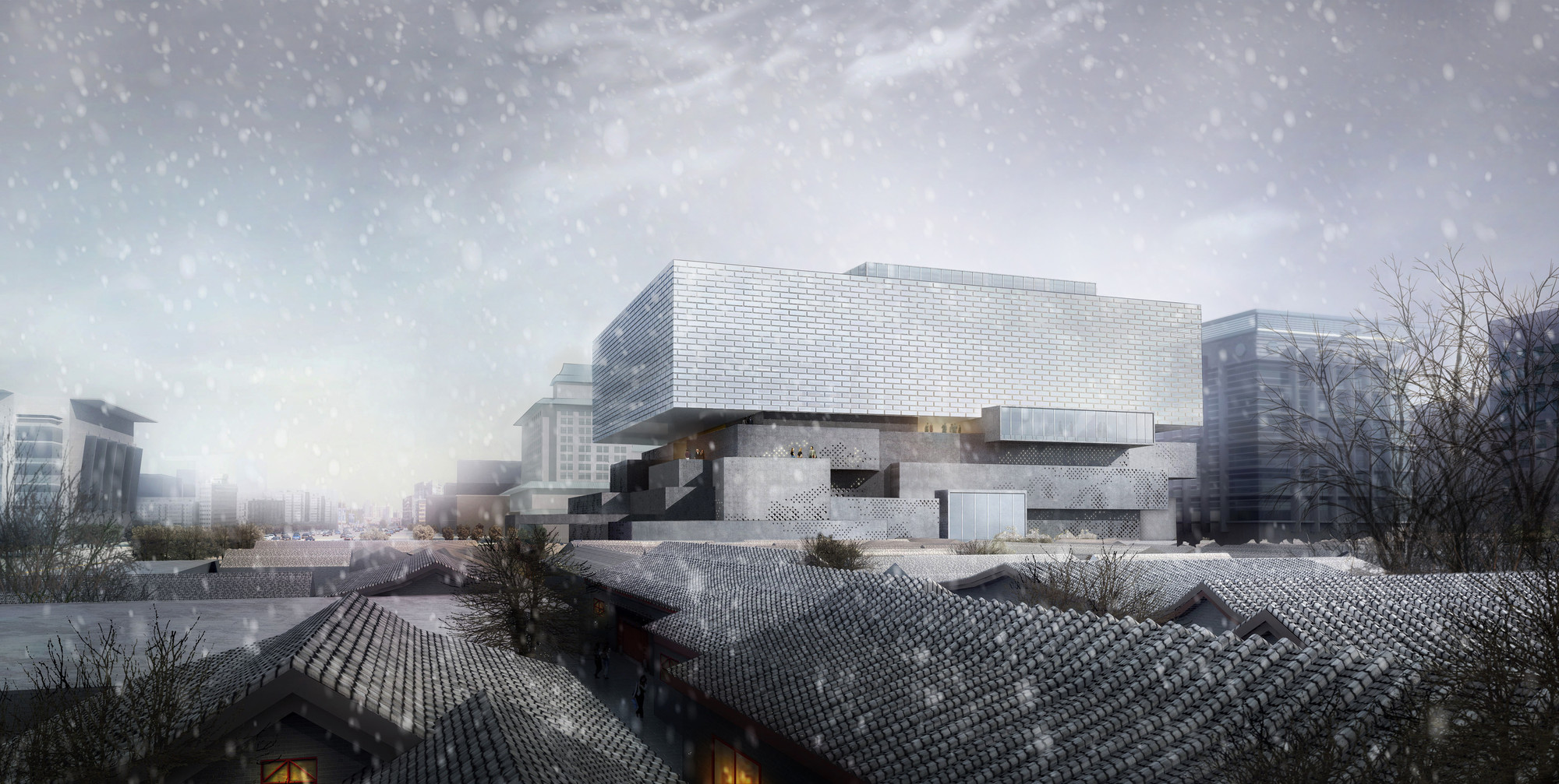 Interview: Büro Ole Scheeren Unveils Designs for Guardian Art Center in Beijing, Guardian Art Center by Büro Ole Scheeren. Image Courtesy of Büro Ole Scheeren