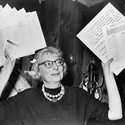 Jane Jacobs, 1961. Image via Wikipedia.