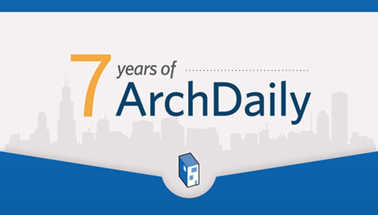 Infographic: 7 Years of ArchDaily