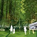 Bosque de la memoria, un espacio de sanación. Image © Patricio Mora
