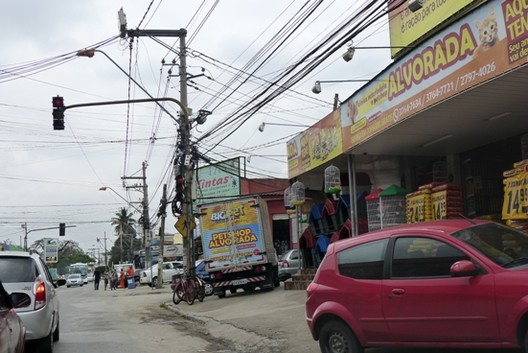 Rua da Estrada do Brasil / Álvaro Domingues, Imagem via Álvaro Domingues