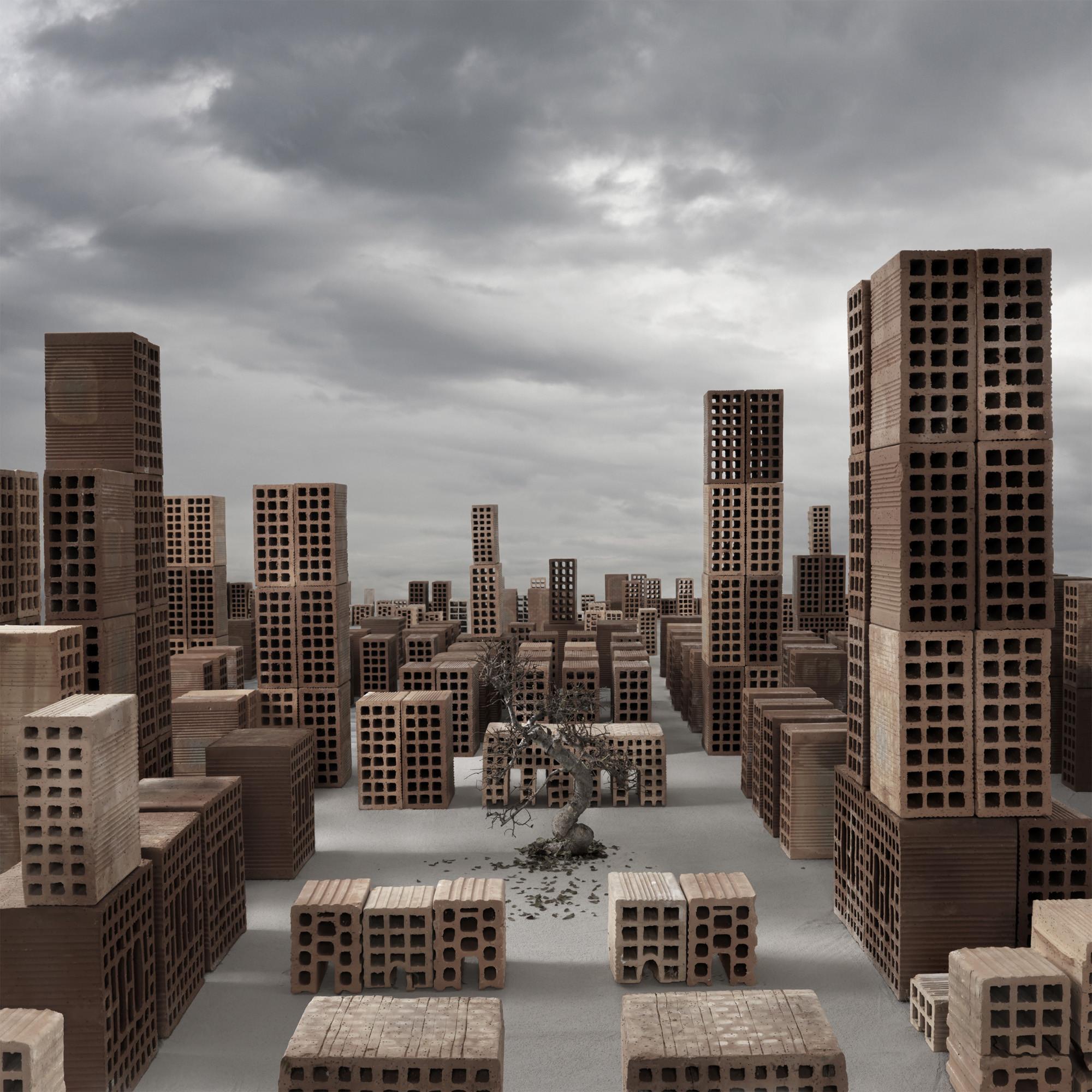 Arte y Arquitectura: Città Minime, ciudades mínimas hechas de ladrillos por Matteo Mezzadri , © Matteo Mezzadri