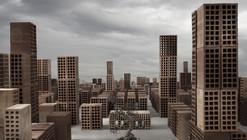 Arte y Arquitectura: Città Minime, ciudades mínimas hechas de ladrillos por Matteo Mezzadri