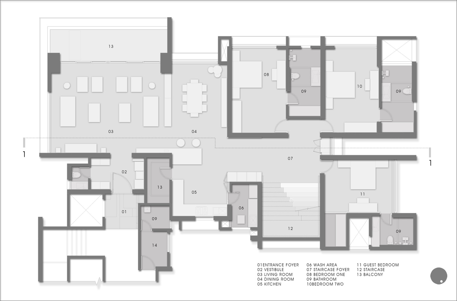 floor plan furniture layout. 1102 Penthouse,11th Floor Plan Furniture Layout L
