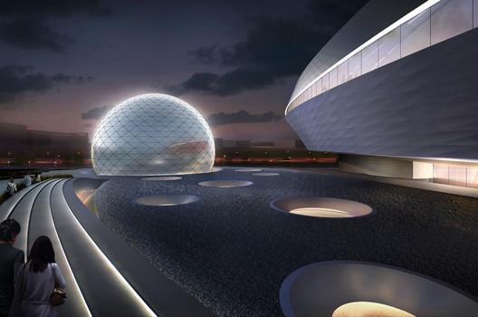 Ennead diseñará planetario en Shanghai   Plataforma Arquitectura