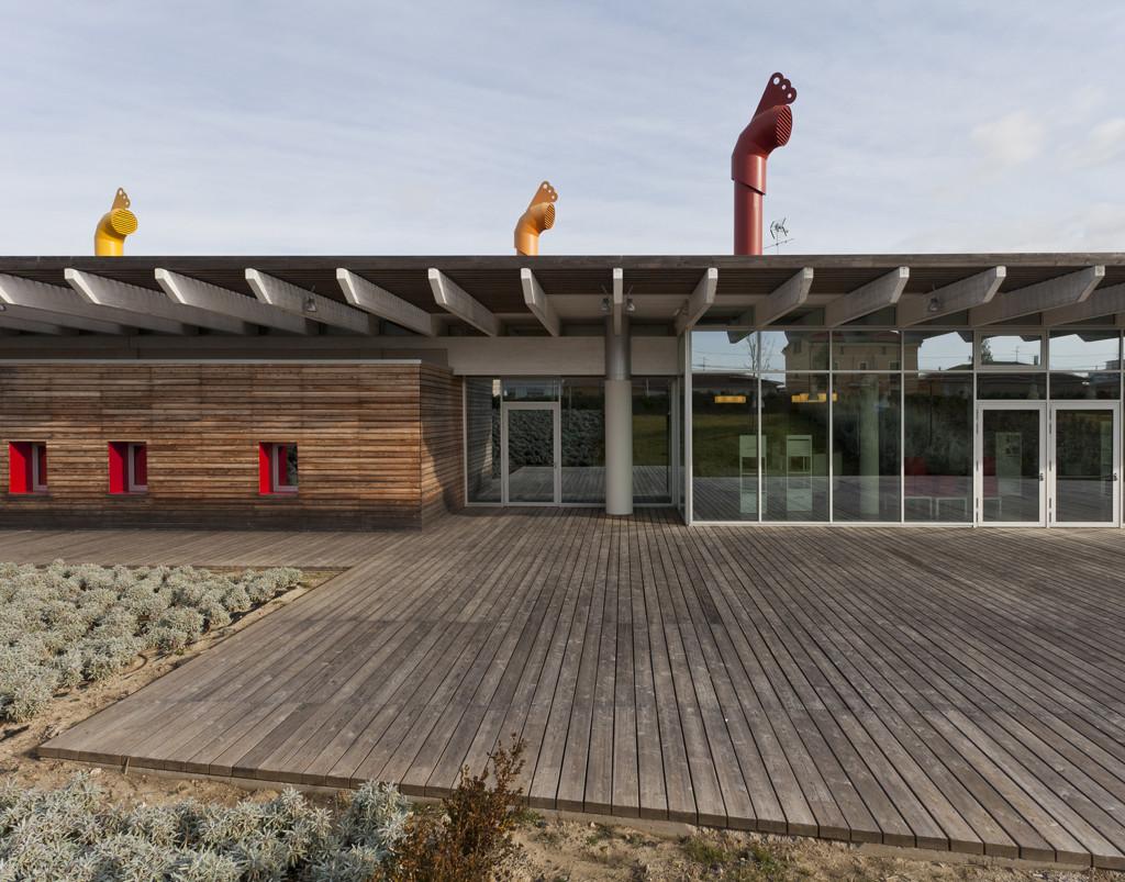 """Centro Cultural """"Le Creste"""" / AREA PROGETTI + UNA2 + Andrea Michelini + Laura Ceccarelli, © Andrea Bosio"""