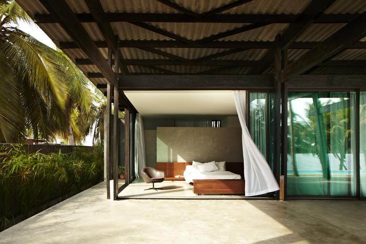 Pabellón de Bambú / Koffi & Diabaté Architectes, © François-Xavier Gbré