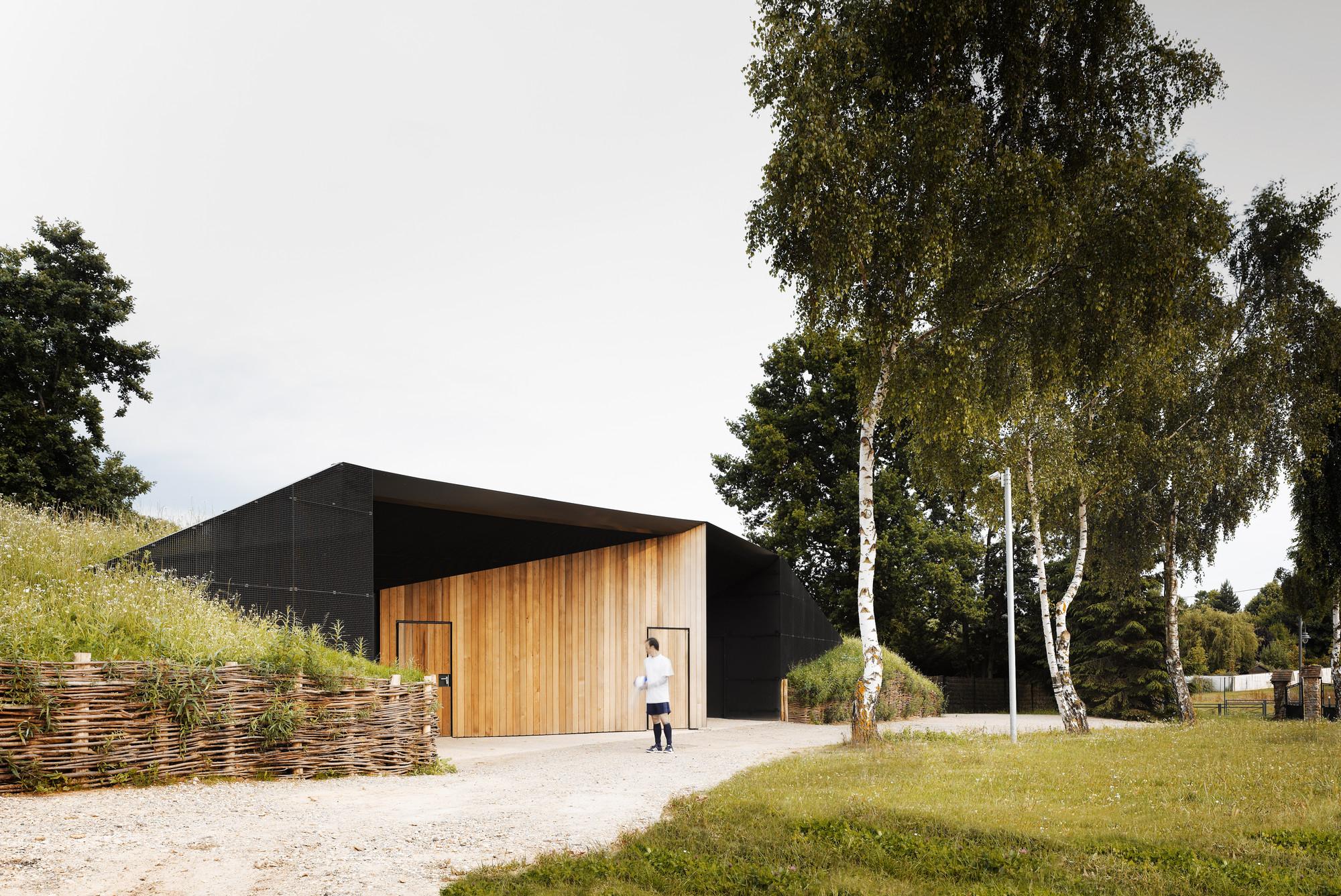 Hidden Locker Rooms / MU Architecture + Ateliers Les Particules, © David Foessel