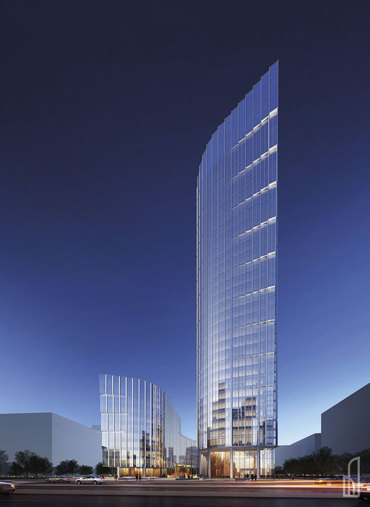 Goettsch Partners Prepare to Start Work on Warsaw Tower, Courtesy of Goettsch Partners