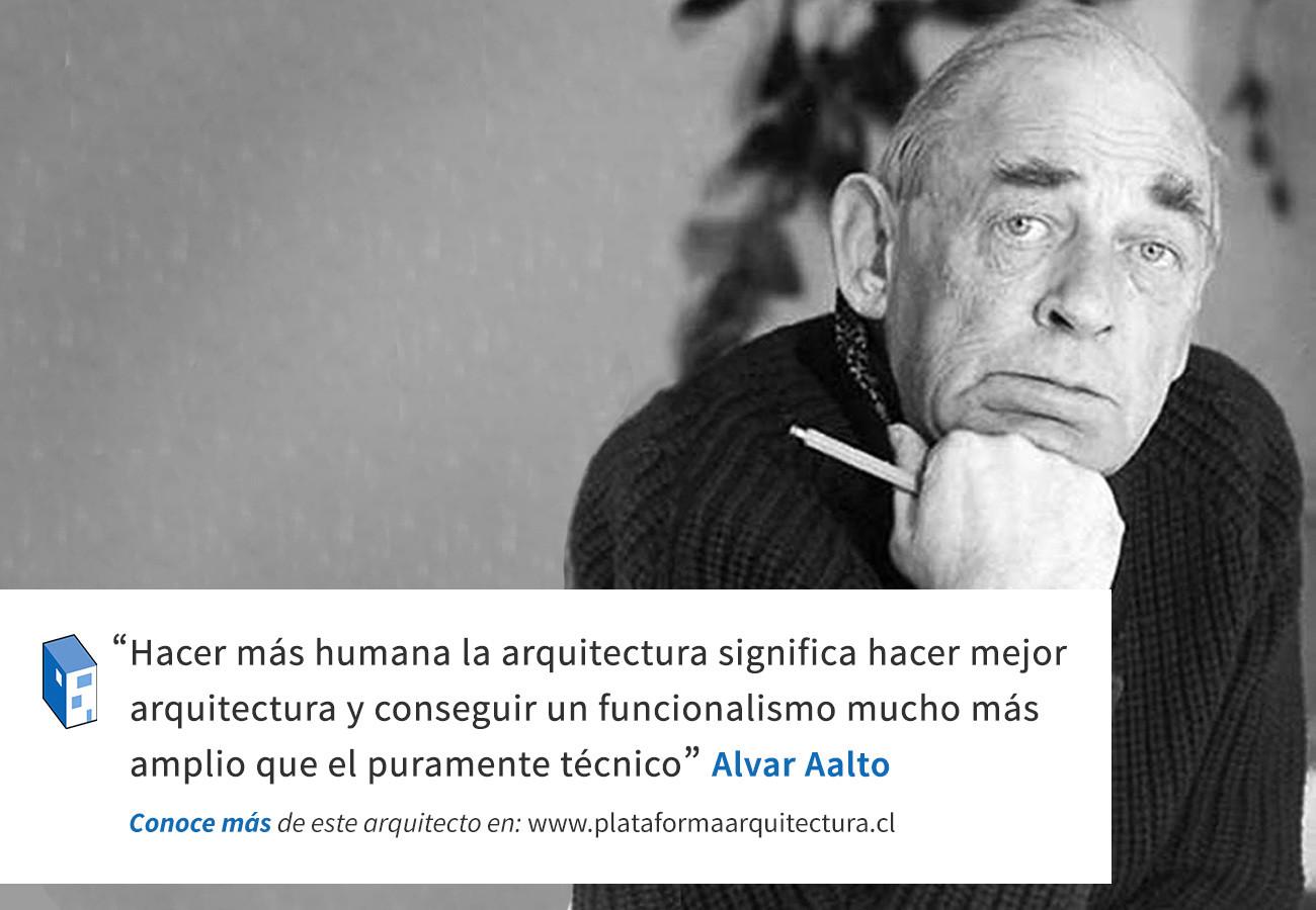 Frases: Alvar Aalto y el funcionalismo