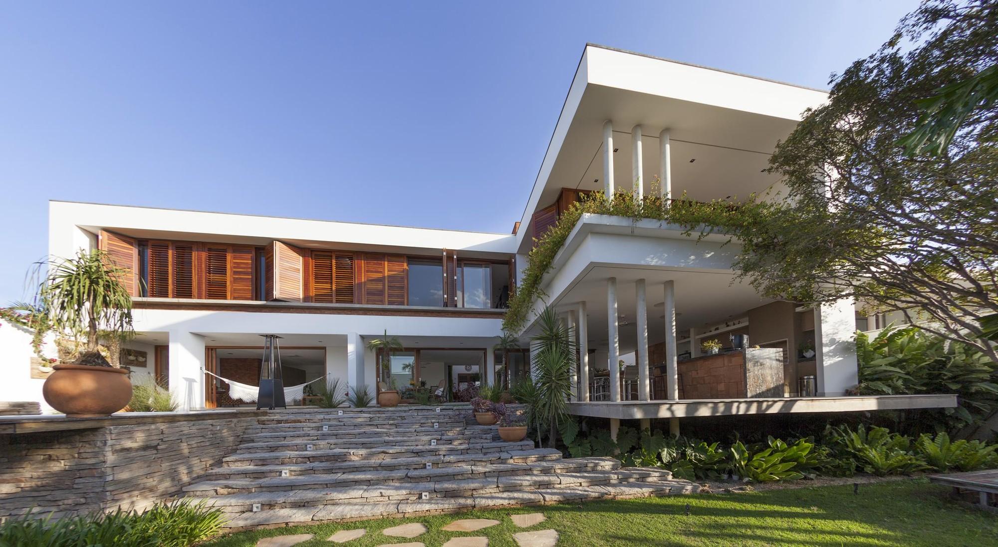 Casa Pitangueira / Steck Arquitetura, © Tácito Carvalho e Silva