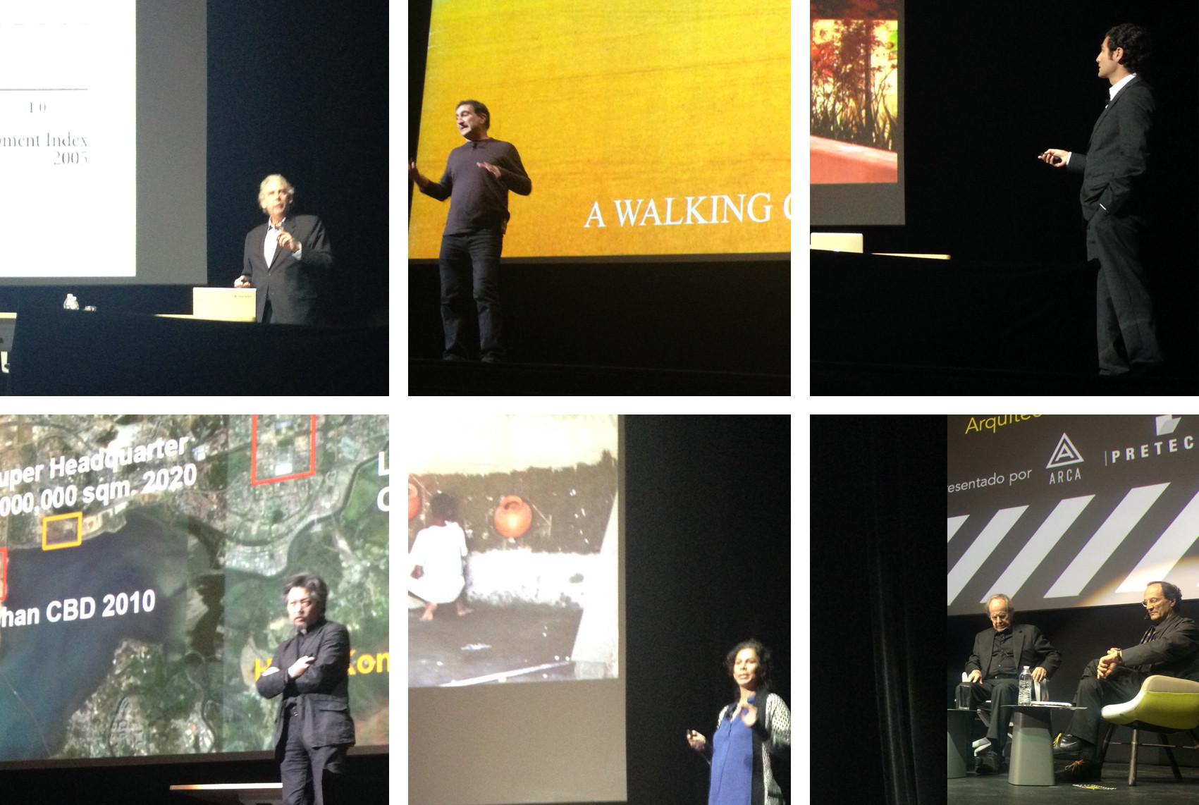 Segunda jornada de conferencias magistrales de MEXTRÓPOLI 2015, © ArchDaily