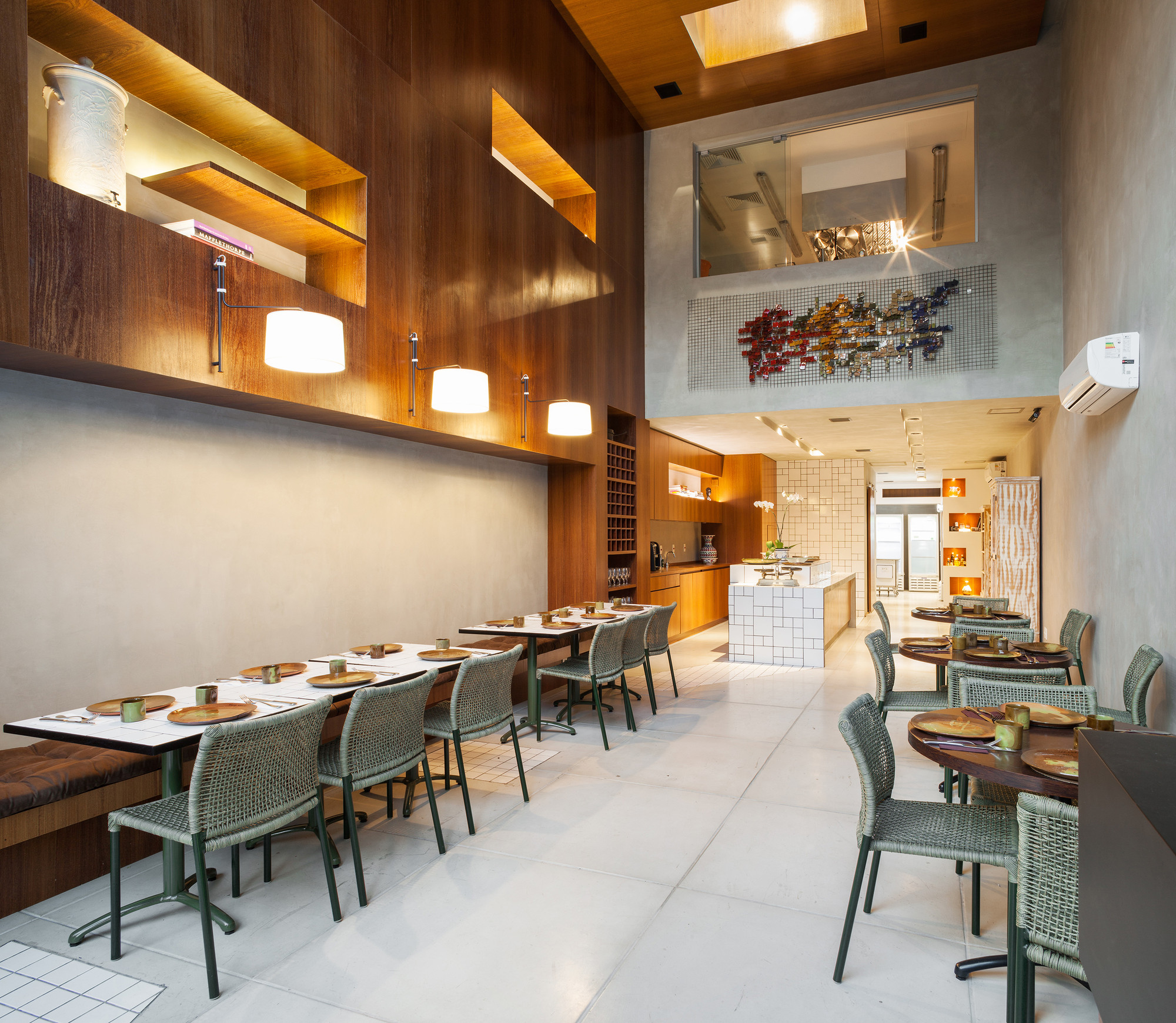 Restaurante Guilhermina / FGMF Arquitetos, © Rafaela Netto