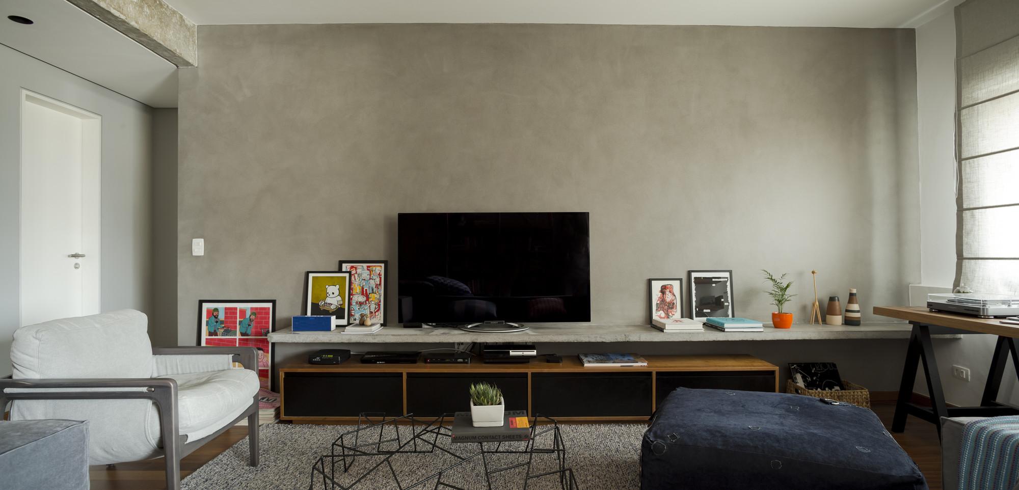 Apartamento Augusta EC / DT Estúdio, © Edu Castello