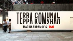 "Gustavo Cedroni fala sobre o projeto expográfico de ""Terra Comunal"", de Marina Abramović"