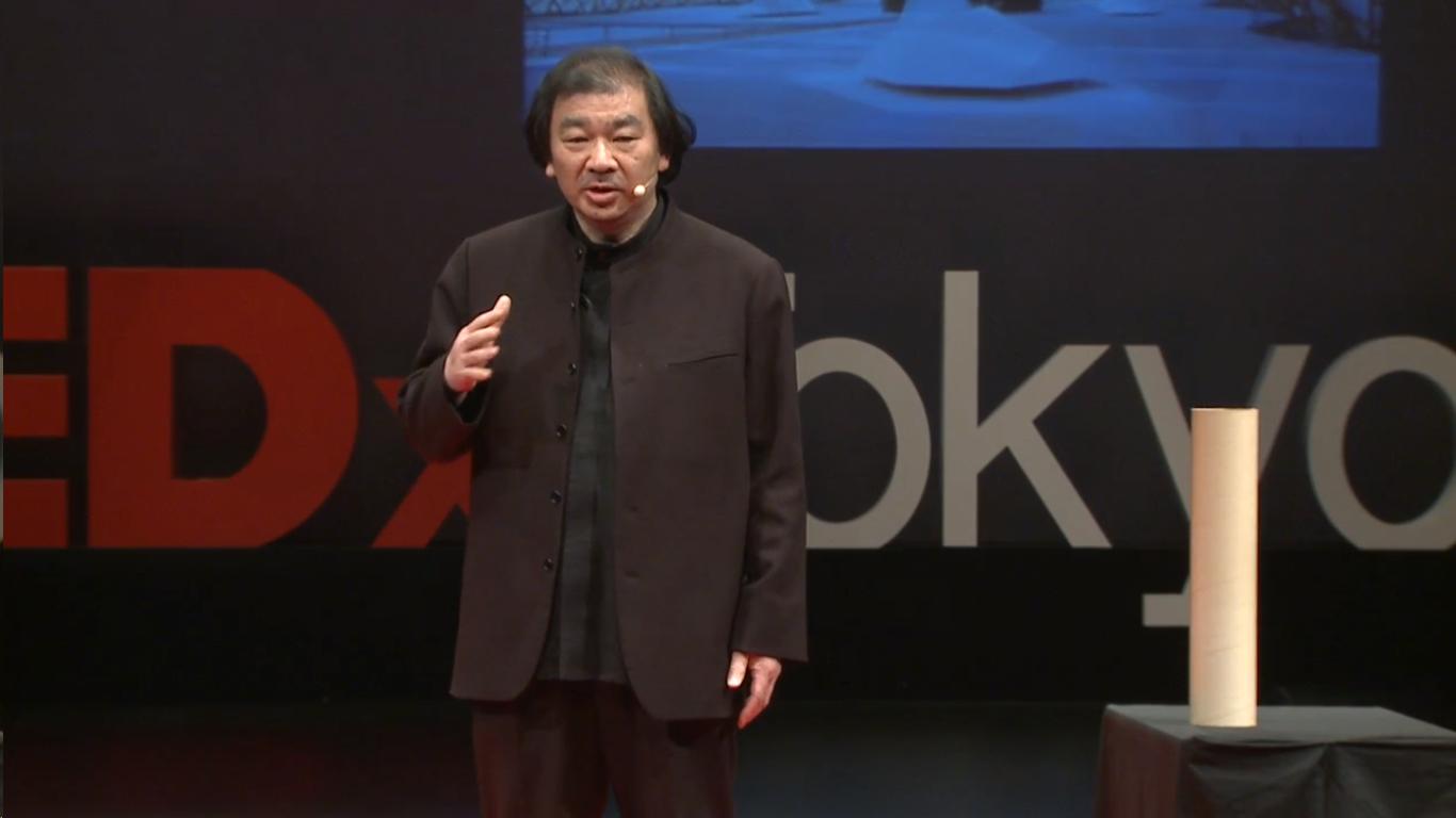 Shigeru Ban en TED: los terremotos no matan gente, pero el colapso de los edificios sí