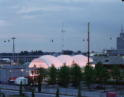 Pavilhão Japonês, Expo 2000 Hannover, 2000, Hannover, Alemanha © Hiroyuki Hirai